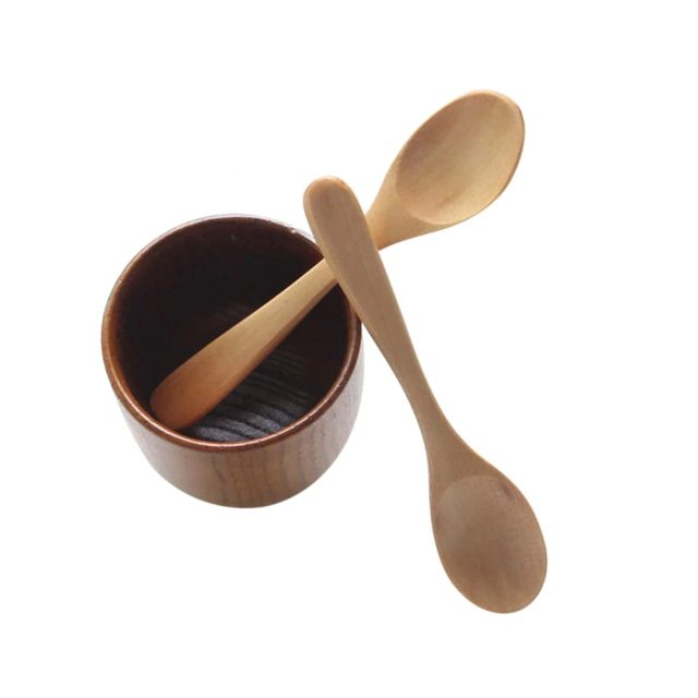 Wooden Cooking Spoons 6 pcs Set