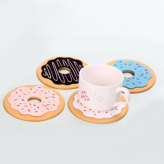 Donut Table Cup Mat