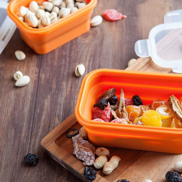 Portable Colorful Folding Food Storage Container