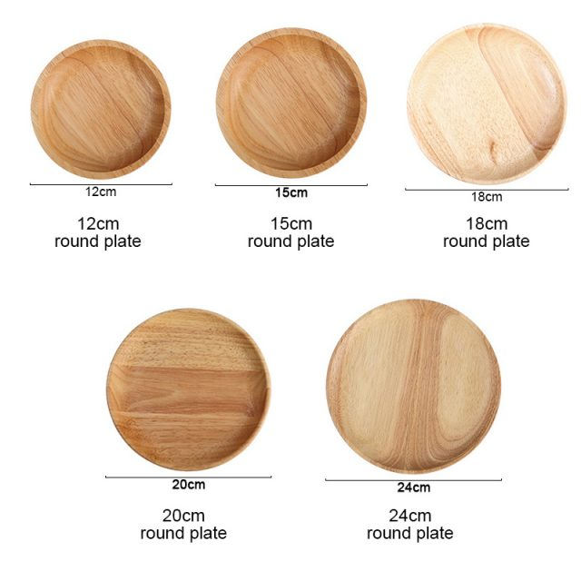 Wooden Sushi Plates